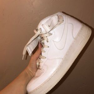 Nike Hightop Air Force 1's